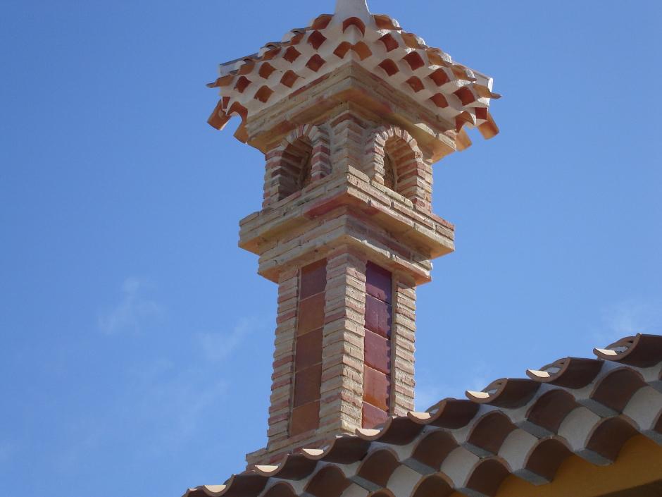Chimeneas para exteriores chimeneas rusticas chimeneas de - Chimeneas rusticas de ladrillo ...