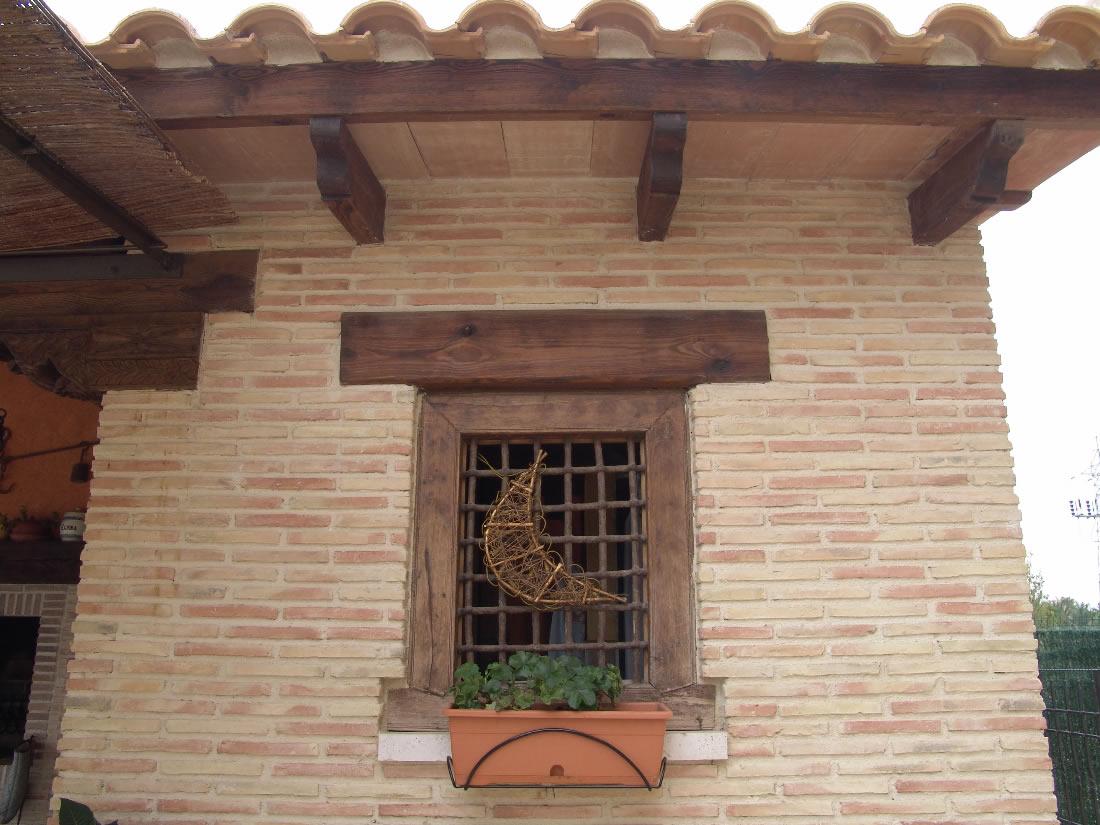 Pilares de ladrillo rustico perfect pilares de ladrillo rustico with pilares de ladrillo - Ladrillo visto rustico ...